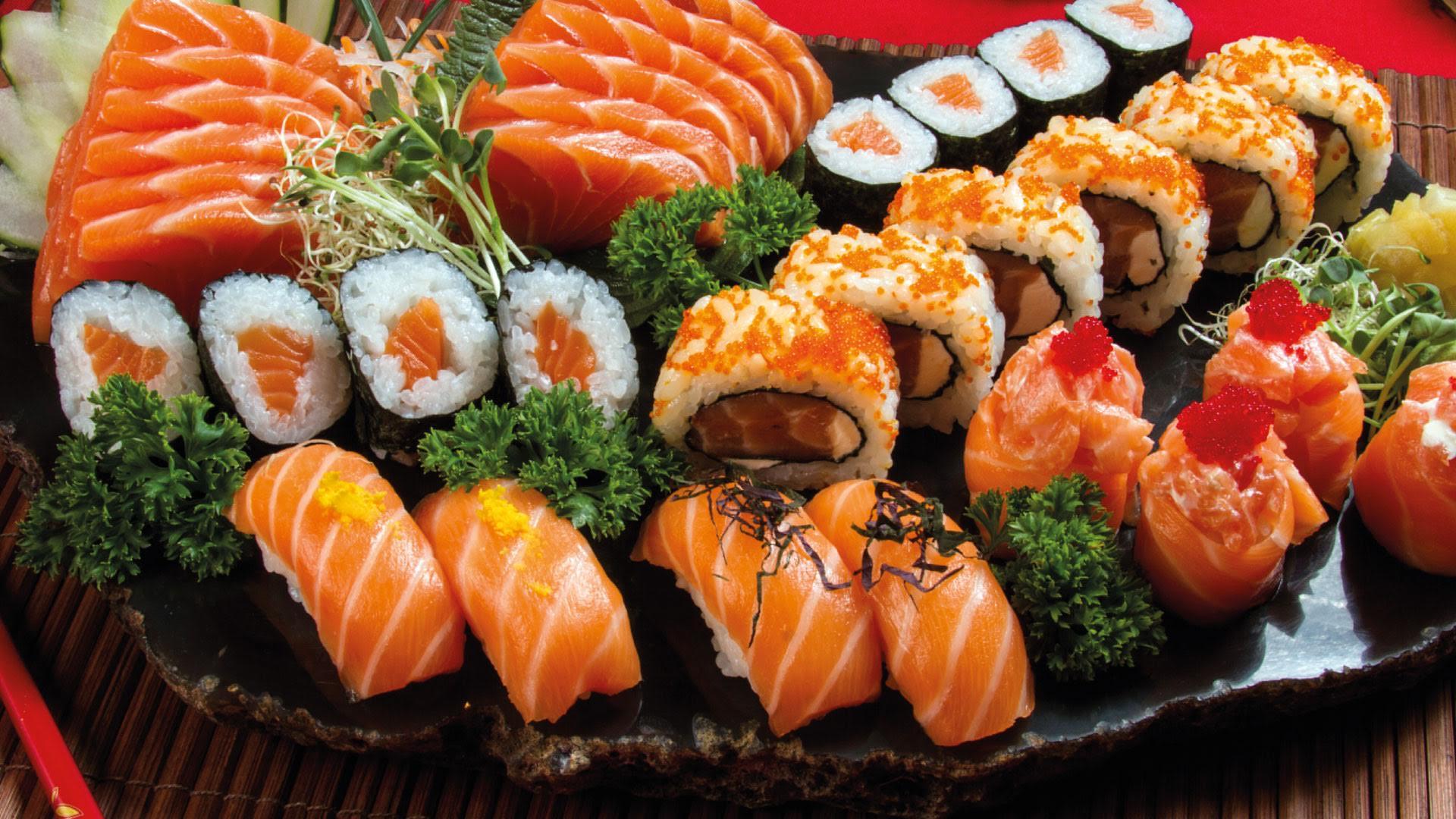 Delivery de Sushi no Genki Sushi com Frete Grátis