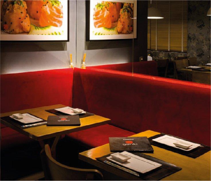 Estrutura do Restaurante Japonês Genki Sushi